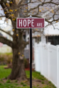 Hope Traffic Sign